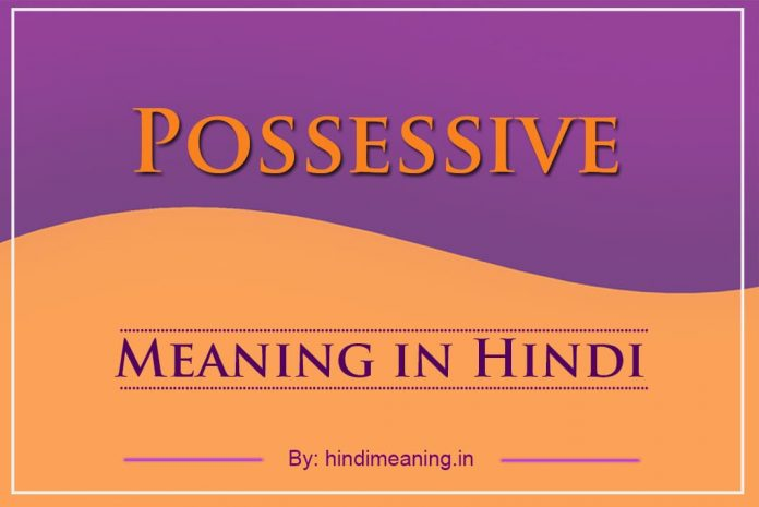 Possessive Meaning in Hindi